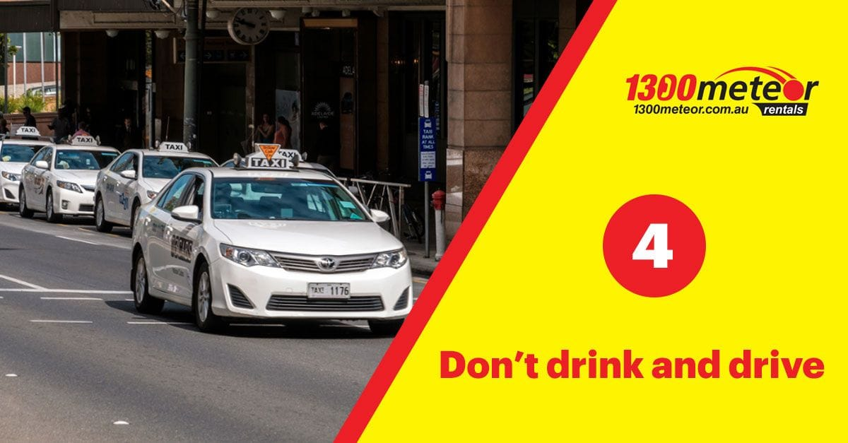 drink driving | 1300 Meteor 7 Tips for Driving in Australia