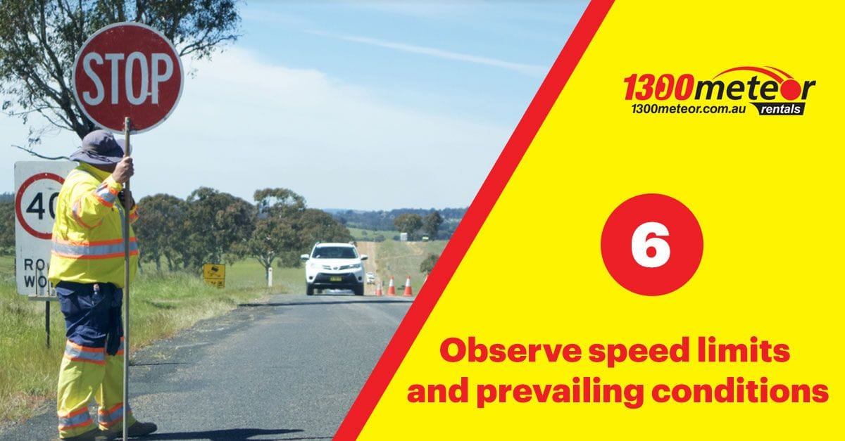 speed limit | 1300 Meteor 7 Tips for Driving in Australia
