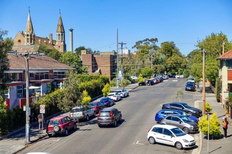 street parking rental car
