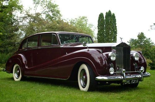 1956 Silver Wraith Rolls Royce in Garnet, A Rolls Choice Livery