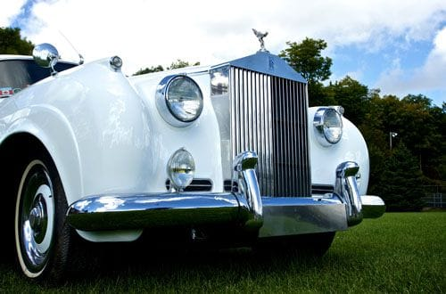 1957 Silver Cloud Rolls Royce in White, A Rolls Choice Livery