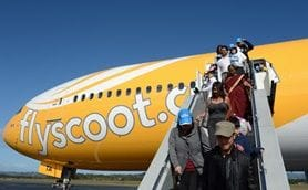 $100 MILLION SCOOT TOURISM BOOST