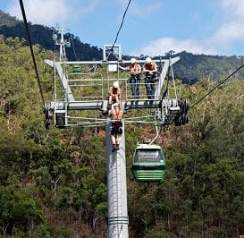 BIG HITTERS BACK NEW CABLEWAY PLAN FOR HINTERLAND