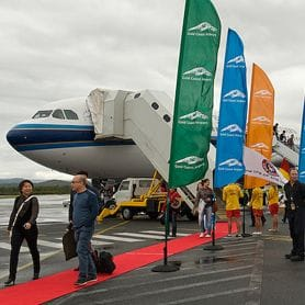 CHARTER FLIGHT BRINGS CHINESE TO GOLD COAST