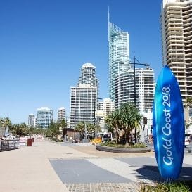 COMMONWEALTH GAMES CONSTRUCTION BOOST