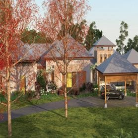 DEMAND FOR BUSH MANSIONS INCREASING