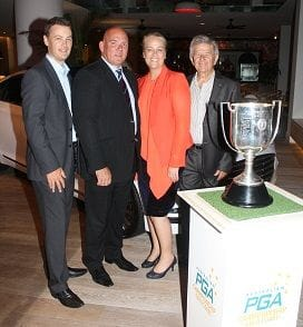 FRIZELLE'S PARTNERS WITH PGA
