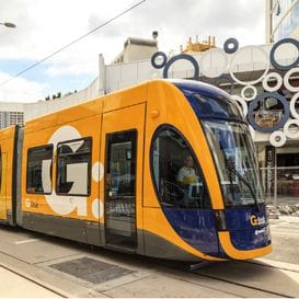 LIGHT RAIL SET TO ROLL IN TWO WEEKS