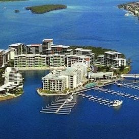 LUXURY ISLAND NEARS SELLOUT