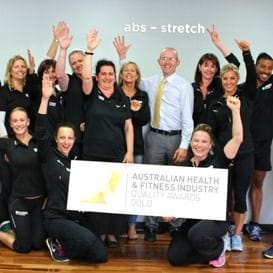 NATIONAL AWARD FOR SHARKS FITNESS