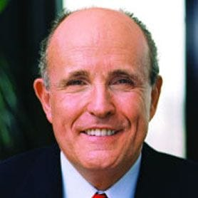 REDUCE CRIME AND ATTRACT BIG BUSINESS, SAYS RUDY GIULIANI