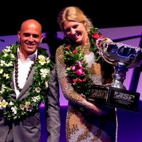 WITNESS THE CROWNING OF SURF WORLD CHAMPIONS