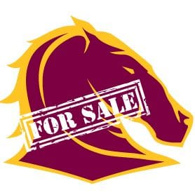 BRISBANE BRONCOS TO SELL OFF 25 PER CENT