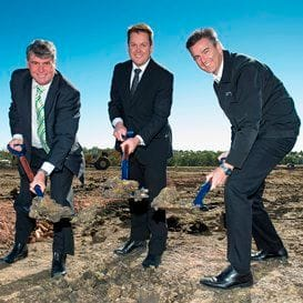 CONSTRUCTION STARTS AT SUPER RETAIL DISTRIBUTION CENTRE