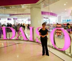 DAISO CHALLENGES RETAIL SLUMP