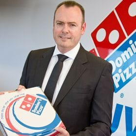 DOMINO'S TAKES STAKE IN JAPAN SISTER COMPANY