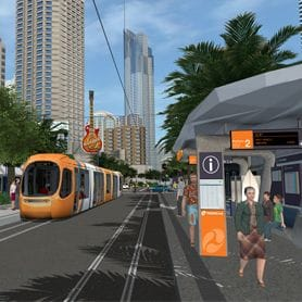 FIRST LIGHT RAIL CONTRACTS ANNOUNCED
