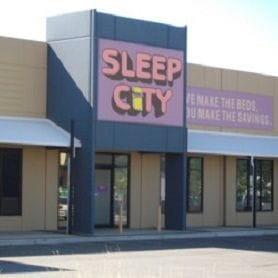 LIGHTS OUT FOR SLEEP CITY