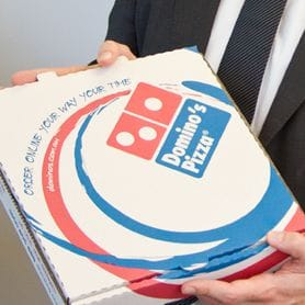 NEW CHAIRMAN FOR DOMINO'S