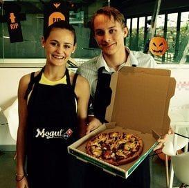 PIZZA-PRENEURS BRING IN THE DOUGH