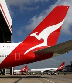 QANTAS SELLS OFF BRISBANE TERMINAL