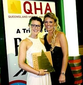 QHA NAMES BEST FOOD AND BEVERAGE EMPLOYEE