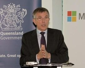 QLD GOVERNMENT TEAMS UP WITH MICROSOFT