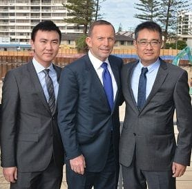 ABBOTT VISITS THE GOLD COAST'S BEACH FRONT JEWEL