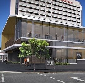 NEW CENTRE SETS HOTEL GRAND CHANCELLOR APART