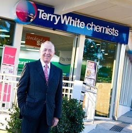 TERRY WHITE MERGES WITH CHEMPLUS