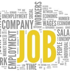 JOB ADS UP, EMPLOYMENT RATE DOWN