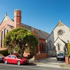 CHURCH SITE FETCHES $1 MILLION ABOVE RESERVE