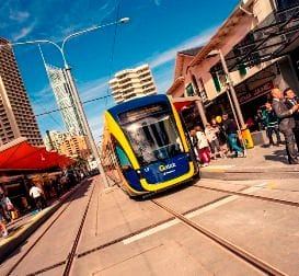 'CHEAP' TRAM EXTENSION PLAN DIVIDES BUSINESS