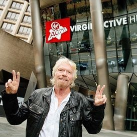 VIRGIN TO SHAKE UP FITNESS INDUSTRY