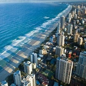 RECORD APARTMENT SALES GOING TO PLAN FOR COAST
