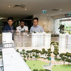 BUYERS FLOCK TO ICONIC SKYBRIDGE DEVELOPMENT