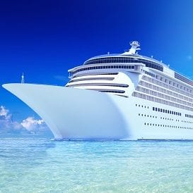 TATE STAKES HIS JOB ON CRUISE TERMINAL SUPPORT