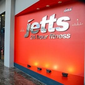 JETTS FITNESS MUSCLES INTO THAILAND
