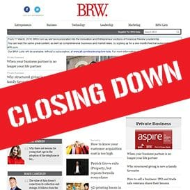 BRW TO SHUT DOWN