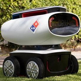 THE CHALLENGE TO BUILD DOMINO'S PIZZA ROBOT