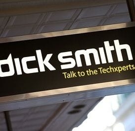 DICK SMITH STORE NUMBERS DWINDLE DOWN TO 100