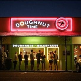 DOUGHNUT TIME: 'THE TREND IS YOUR FRIEND'
