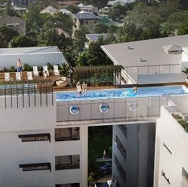 BLUE SKY RAISES THE BAR WITH ROOFTOP POOL