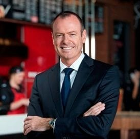 DON MEIJ ON PIZZA HUT: THEY WON'T BE OUR BIGGEST COMPETITOR