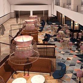 JUPITERS REVEALS FIRST LOOK AT NEW ATRIUM BAR