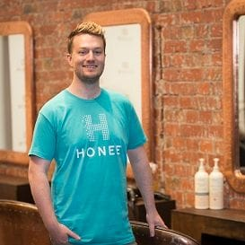 ENTREPRENEUR'S NEW VENTURE SWEET AS 'HONEE'
