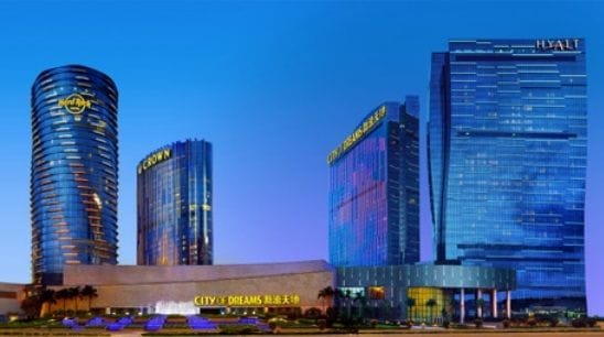 CROWN SELLS MACAU CASINO STAKE AND HALTS VEGAS PLANS