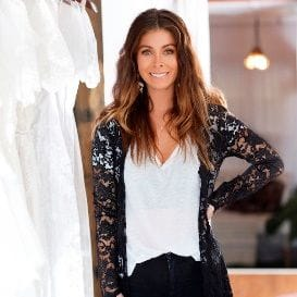 GRACE LOVES LACE DRESSED FOR BRITISH SUCCESS