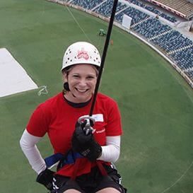 THRILL SEEKERS TO SCALE NEW HEIGHTS FOR CHARITY