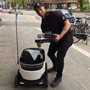DOMINO'S DELIVERS THE ROBOTIC GOODS